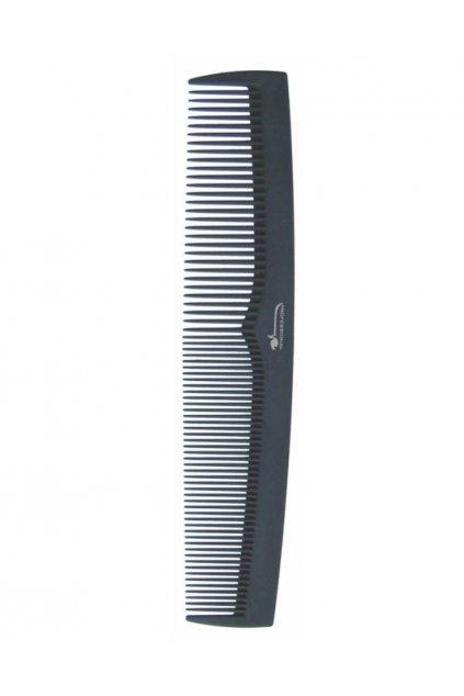 Hřeben DELRIN POM obloukový, ostré rohy 19,5cm
