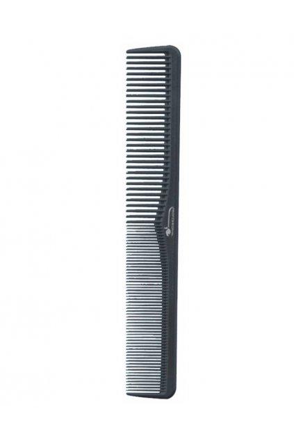 Hřeben DELRIN POM rovný, řídký/hustý 17,7cm