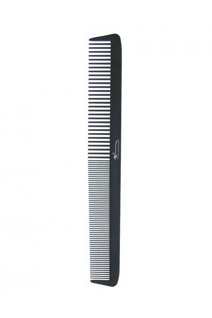 Hřeben DELRIN POM dlouhý rovný, řídký/hustý 21,5cm