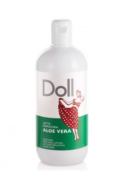 Xanitalia Mléko po epilaci ALOE VERA šetrně čistí, navrací vitalitu zralé a suché pokožce 500ml Doll