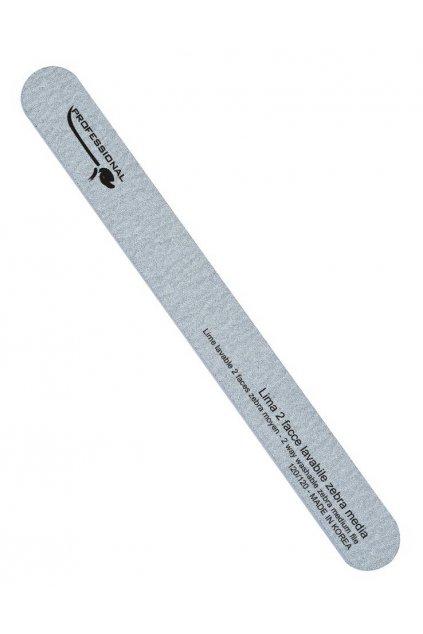 Pilník na nehty rovný ZEBRA hrubost 120/120, omyvatelný