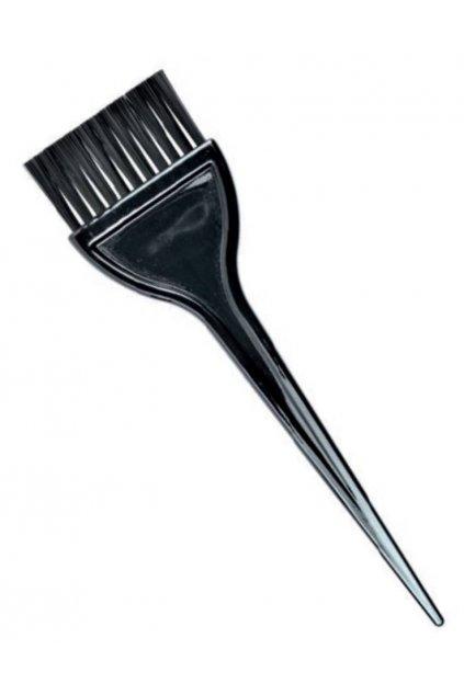 Štětec na barvení vlasů černý široký