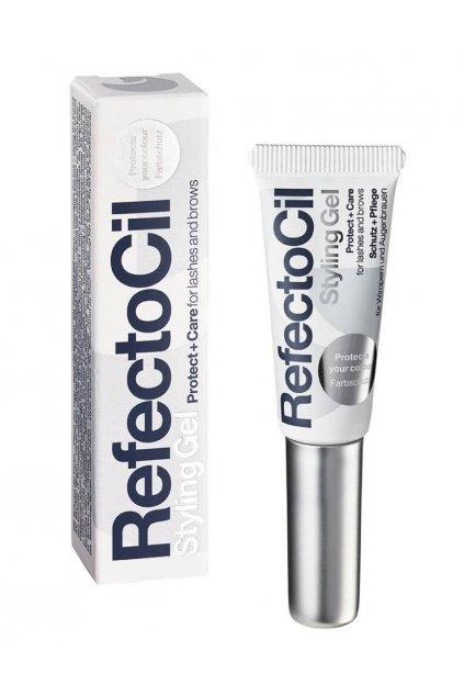 RefectoCil Styling gel pro péči o řasy a obočí, ochrana barvy s D-Pantenol 9ml