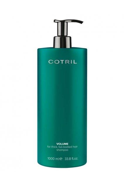 Cotril VOLUME Šampon objemový pro jemné vlasy s kolagenem, zázvorem