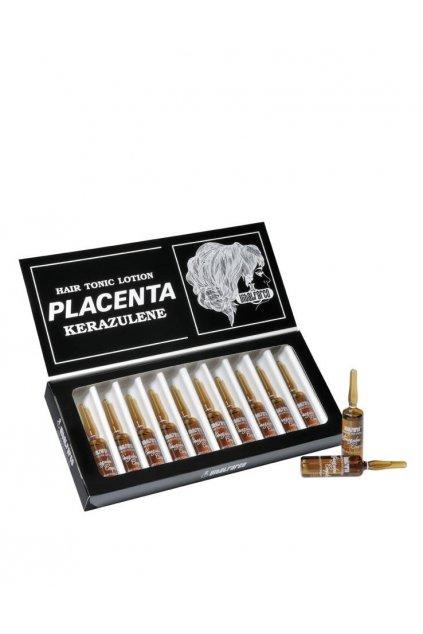 Vitalfarco Placentové ampule proti padání, mastné pokožce, proti lupům 12x10ml