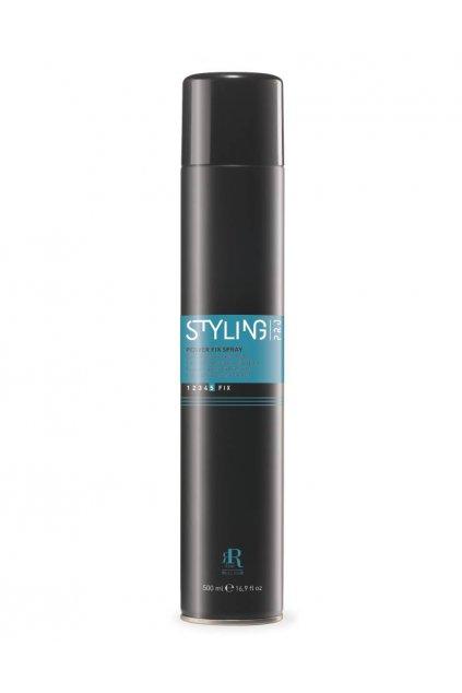 RR Line POWER FIX SPRAY lak na vlasy ve spreji, extra silné zpevnění 500ml