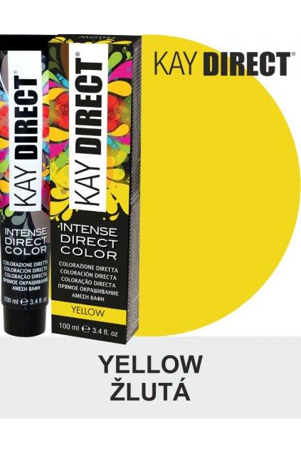 Kay Direct barva na vlasy Yellow Žlutá 100ml