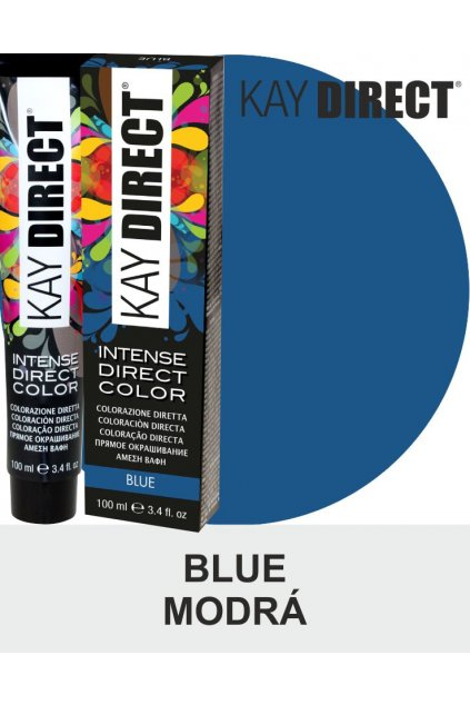 Kay Direct barva na vlasy Blue Modrá 100ml