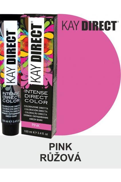 Kay Direct barva na vlasy Pink Růžová 100ml