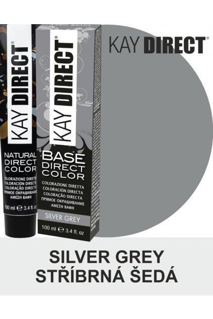 Kay Direct barva na vlasy Silver Grey Stříbrná šedá 100ml