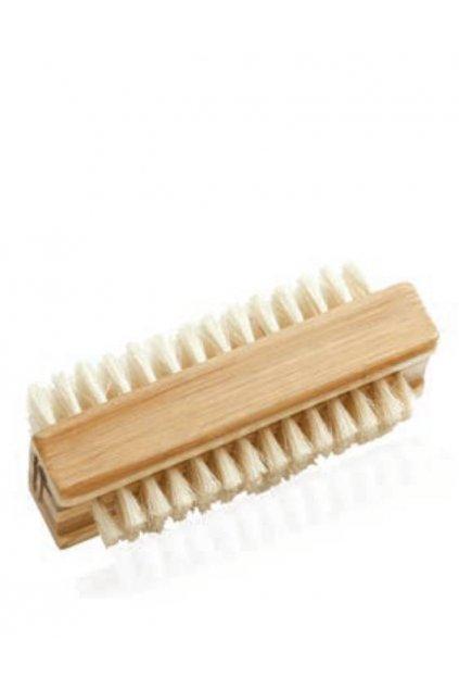Spa beauty Oboustranný čistící kartáč se štětinami pro ruce a nehty