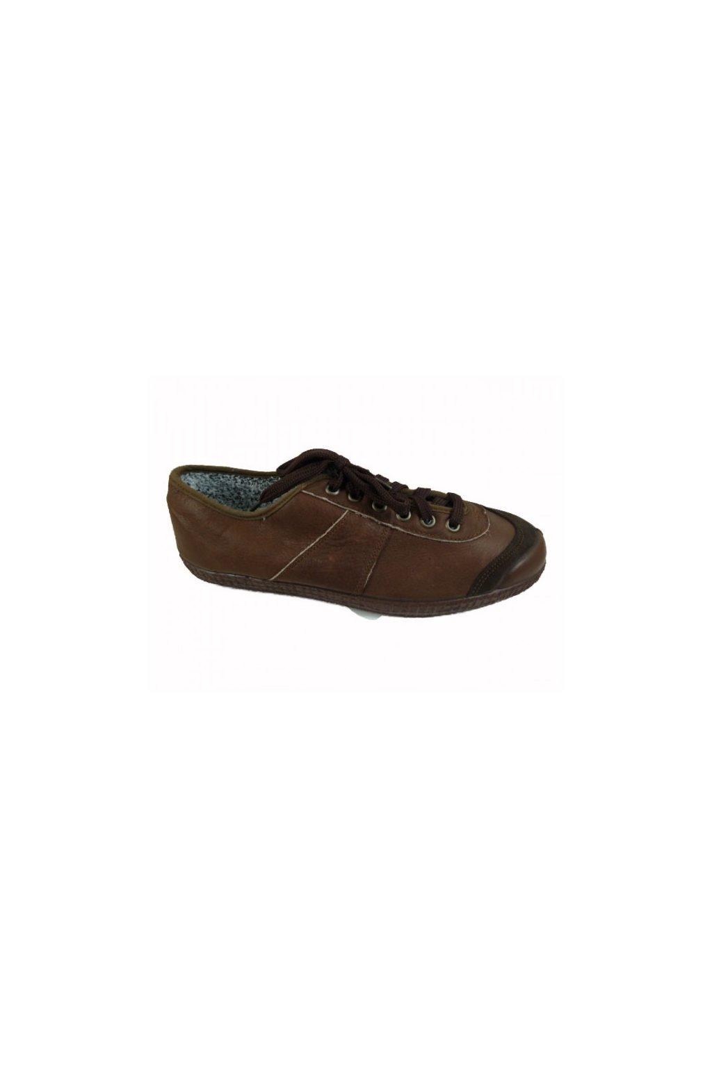 T-shoes 1704 hnědá