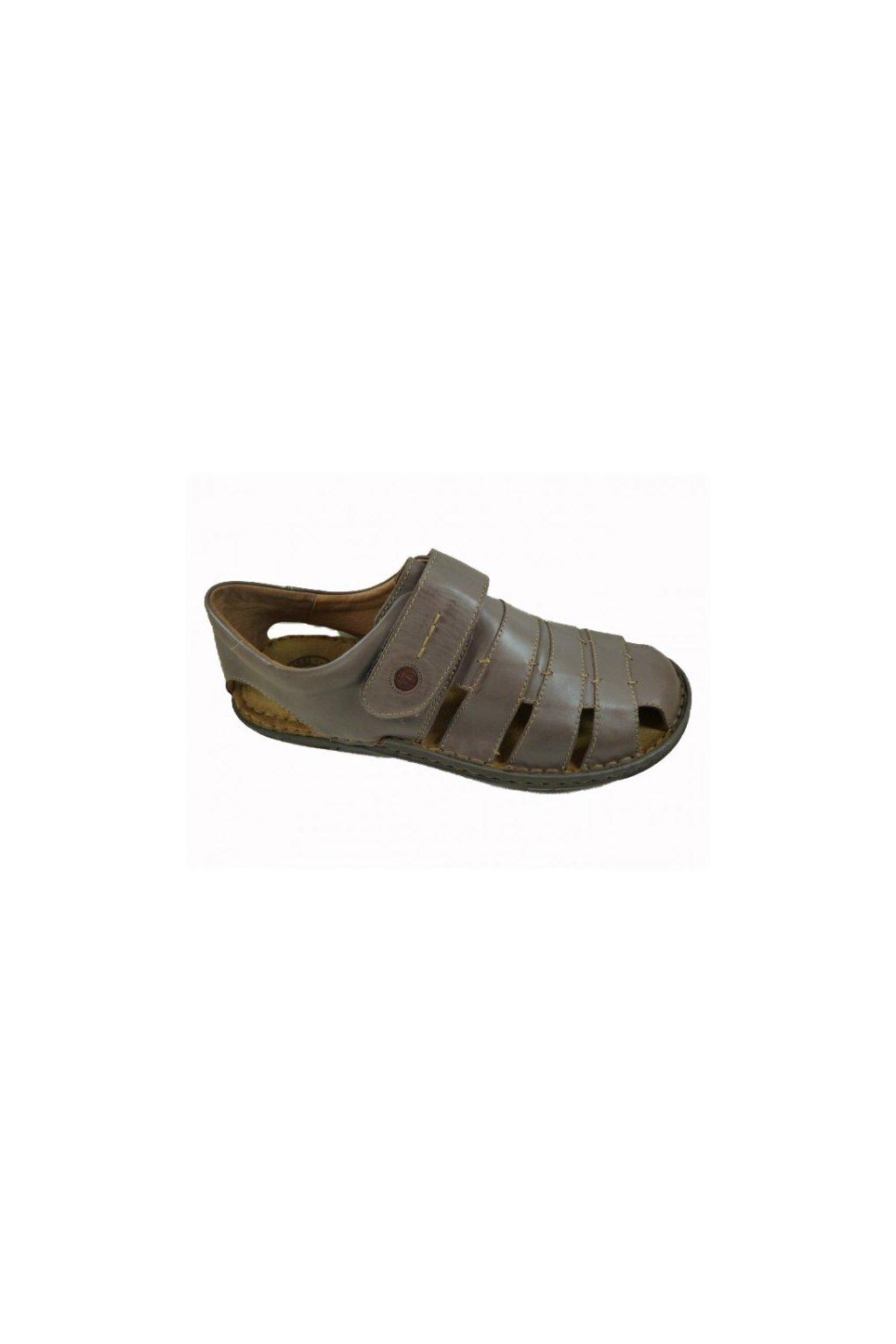 Nadměrná pánská obuv J.Seibel 43203 hnědá