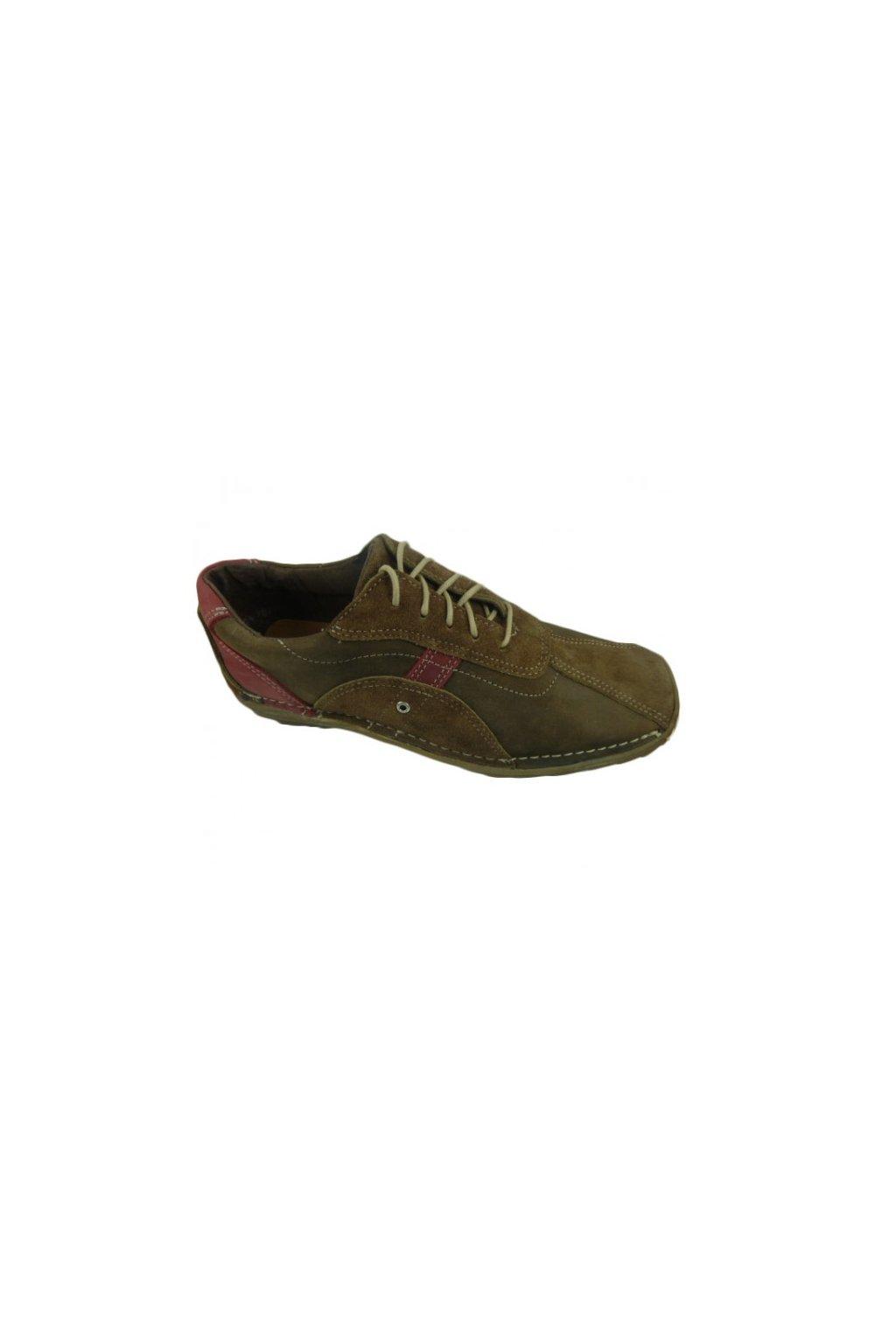 Podměrná pánská obuv Bent 490 hnědá