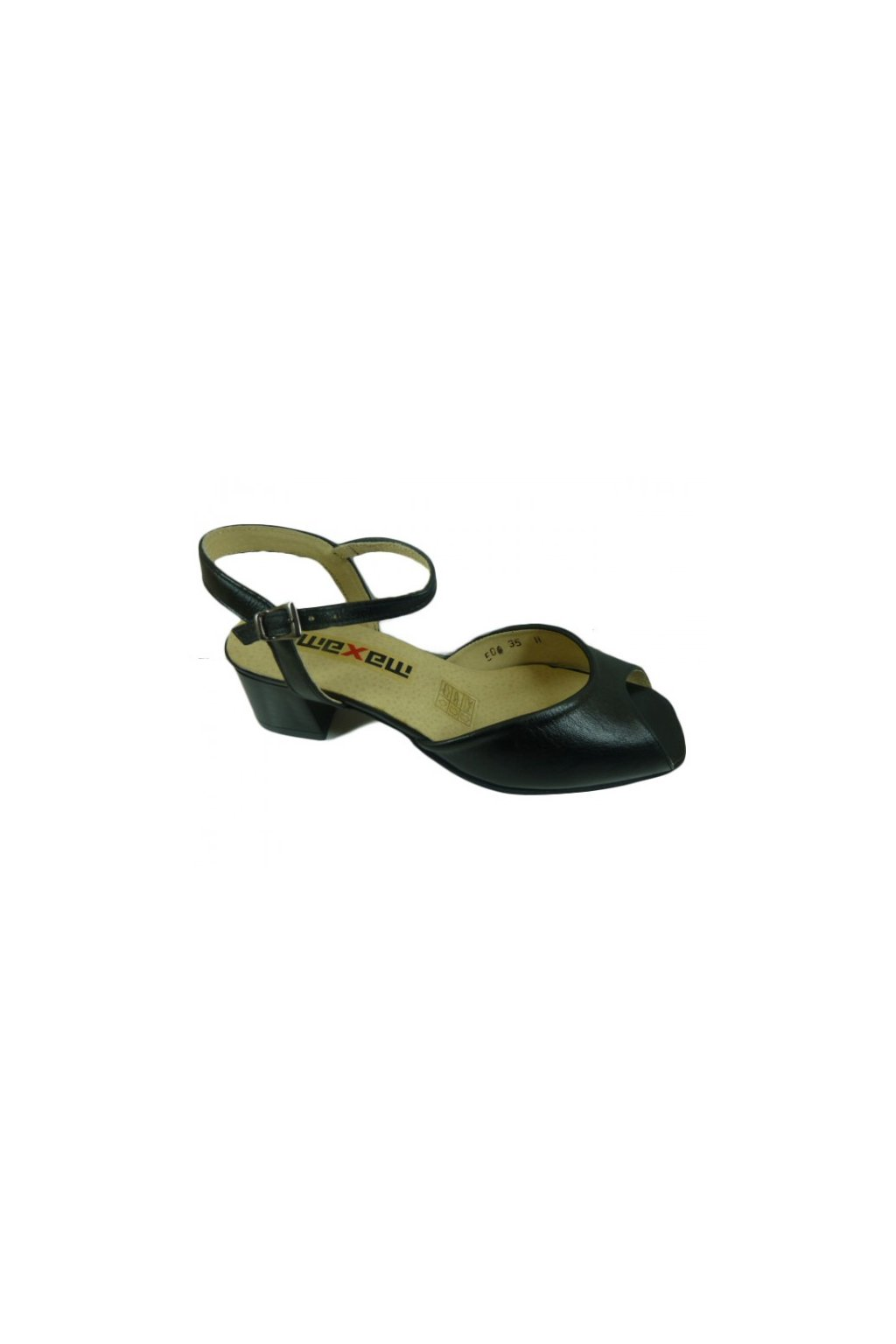 Podměrná dámská obuv Maxam .506 černá