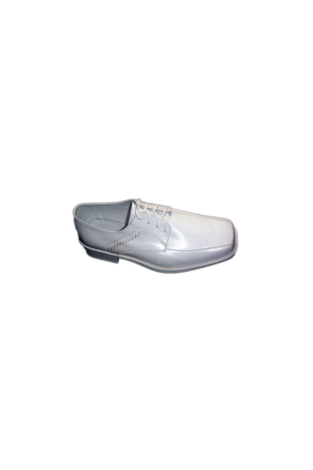 Podměrná pánská obuv Češv Simsonek bílá