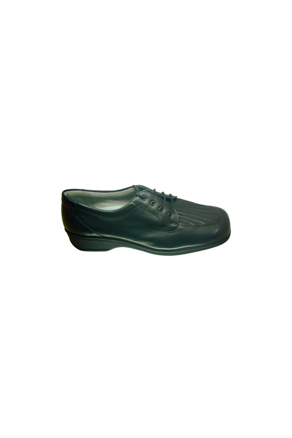 Nadměrná dámská obuv Kuda L.C.2001 černá