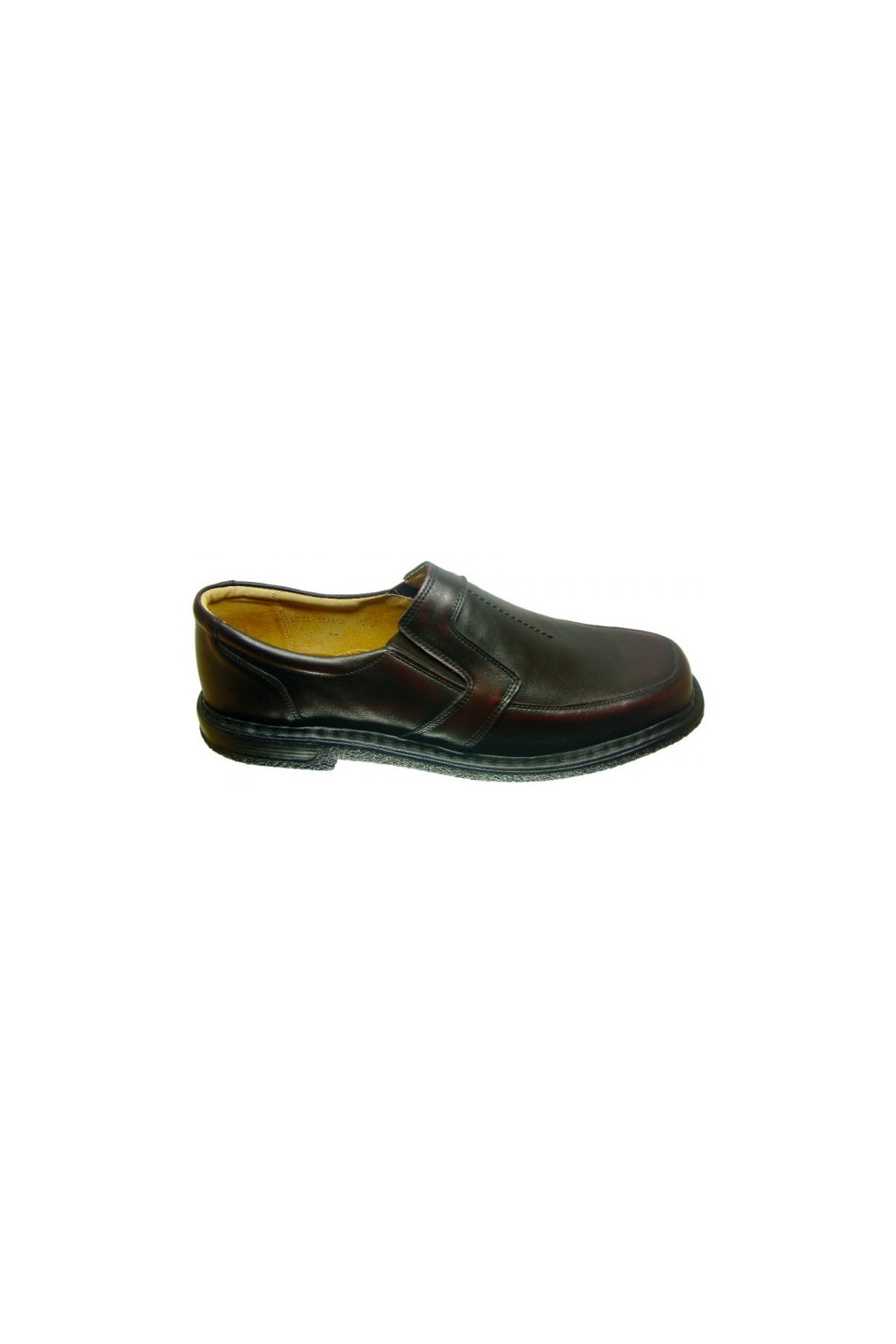 Nadměrná pánská obuv Alex 438 hnědá