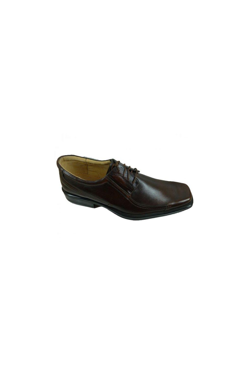 Nadměrná pánská obuv Kuda 523 hnědá