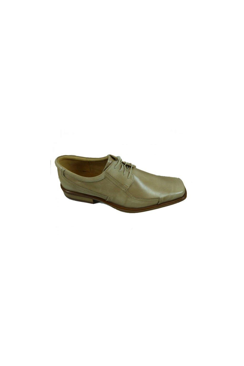 Nadměrná pánská obuv Kuda 523 béžová