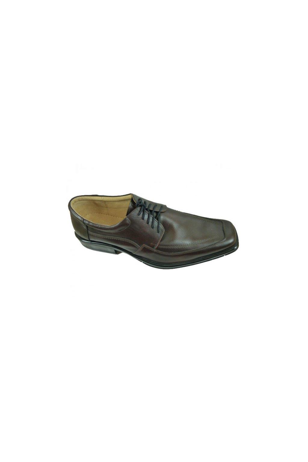 Nadměrná pánská obuv Kuda 526 hnědá