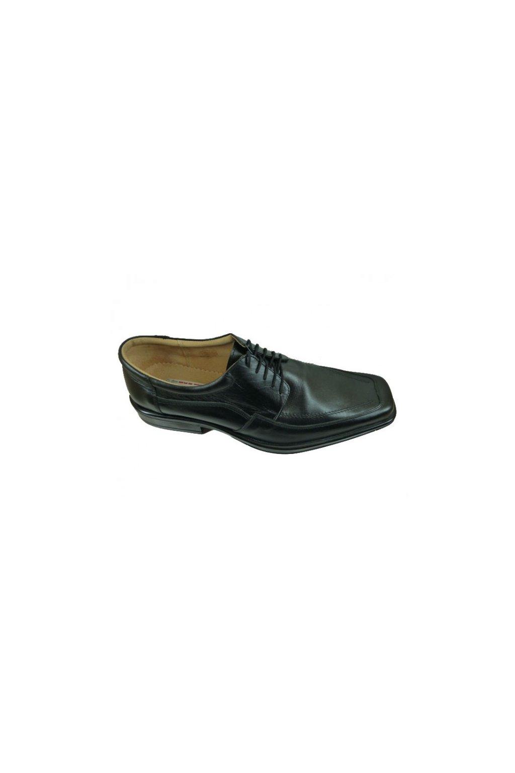 Nadměrná pánská obuv Kuda 526 černá