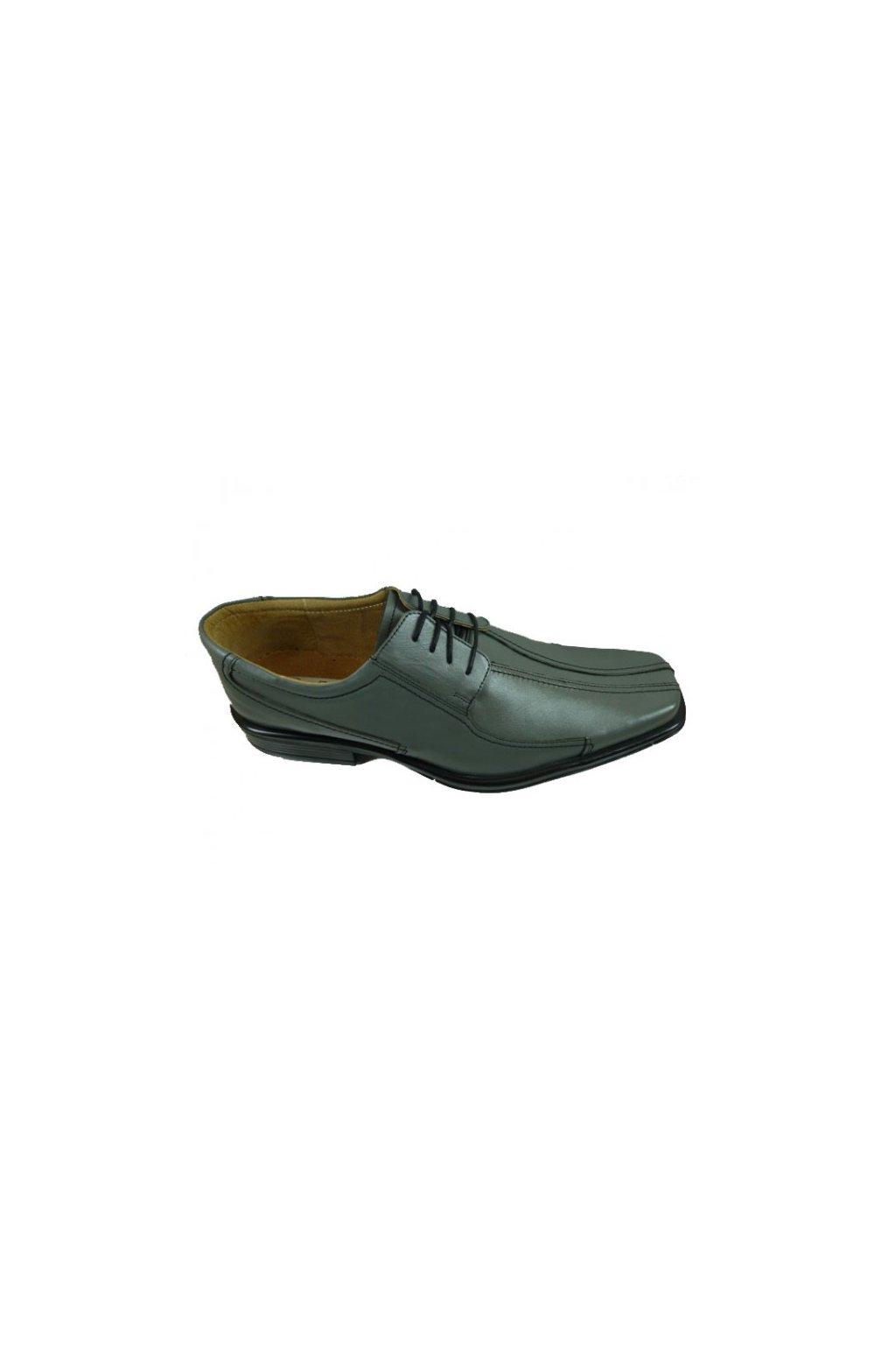 Nadměrná pánská obuv Kuda 524 šedá
