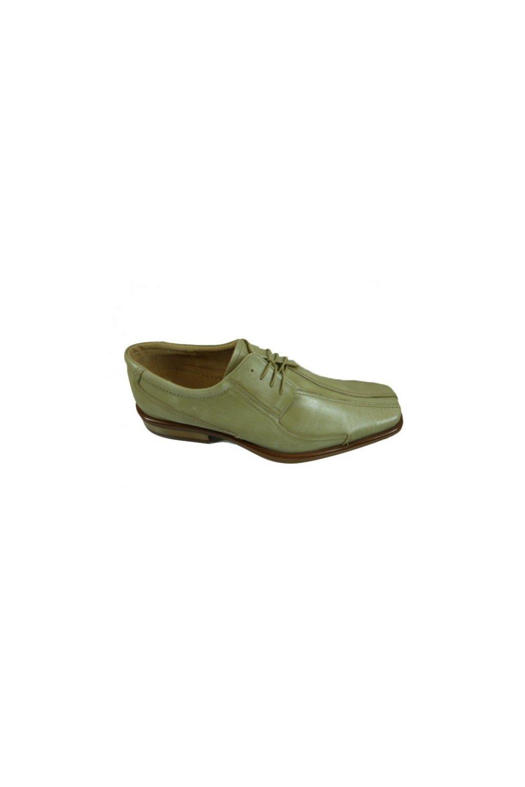 Nadměrná pánská obuv Kuda 524 béžová
