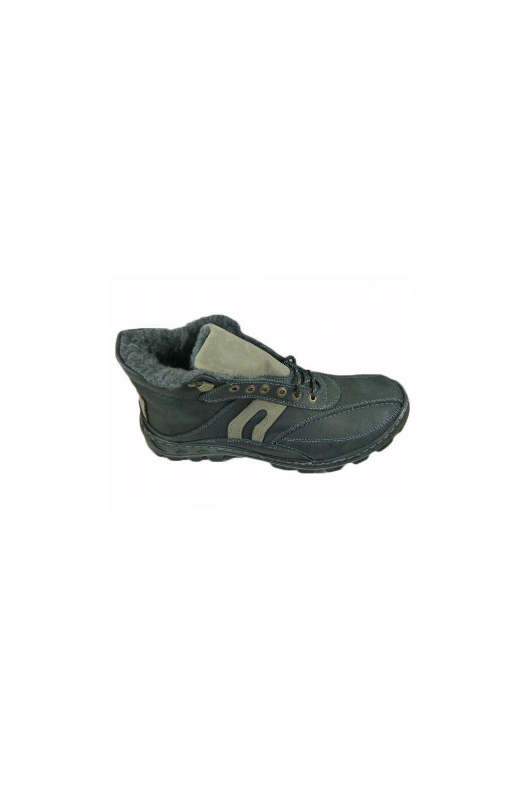 Nadměrná pánská obuv Laser L58zN5 černá