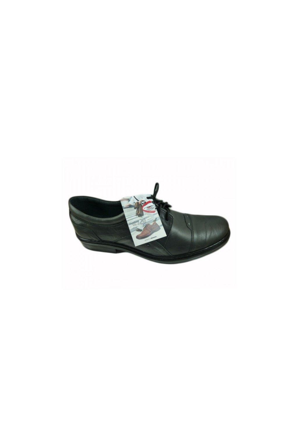Nadměrná pánská obuv  Hujo EF 176 šedá