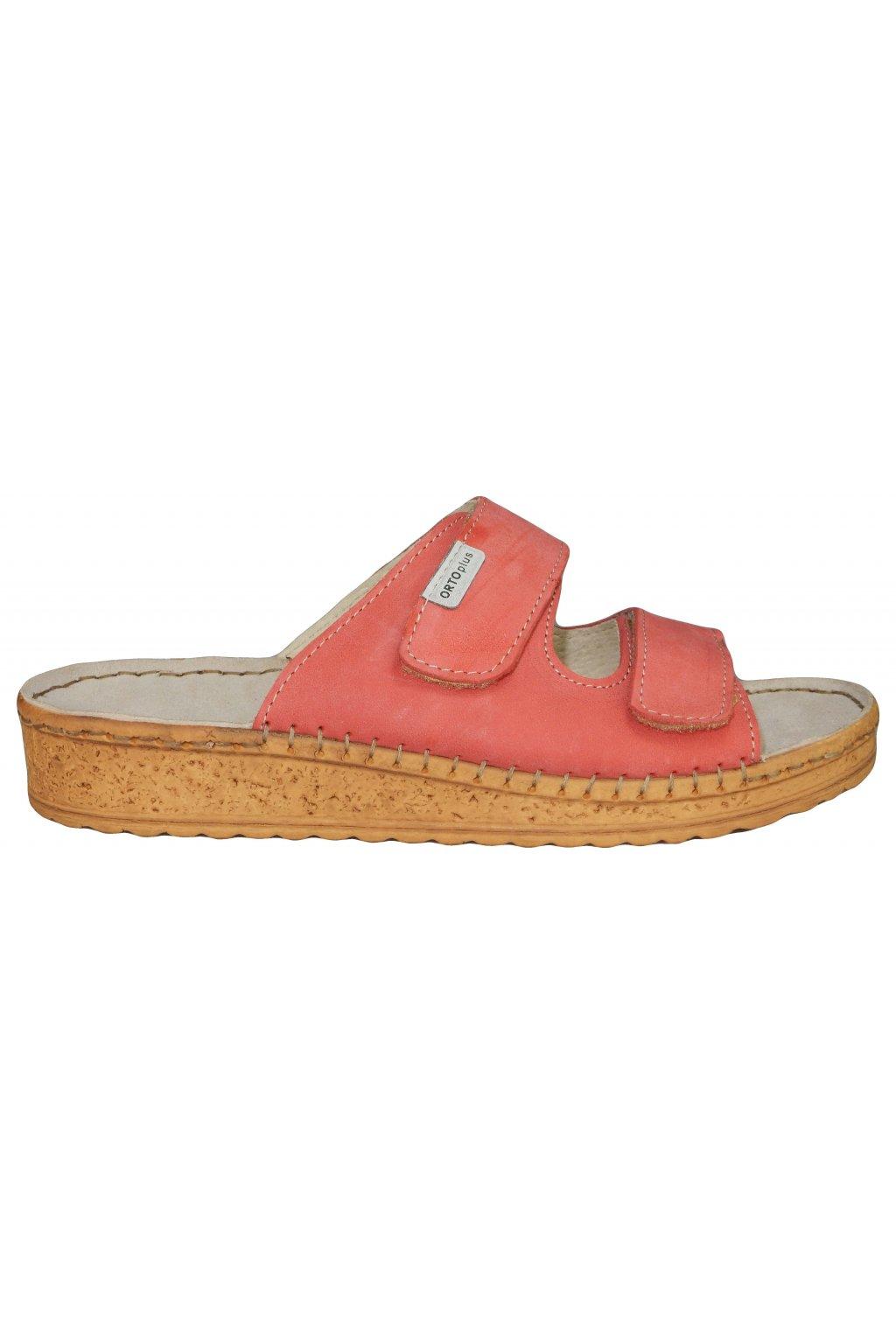 Dámské vycházkové pantofle ORTO PLUS 1012