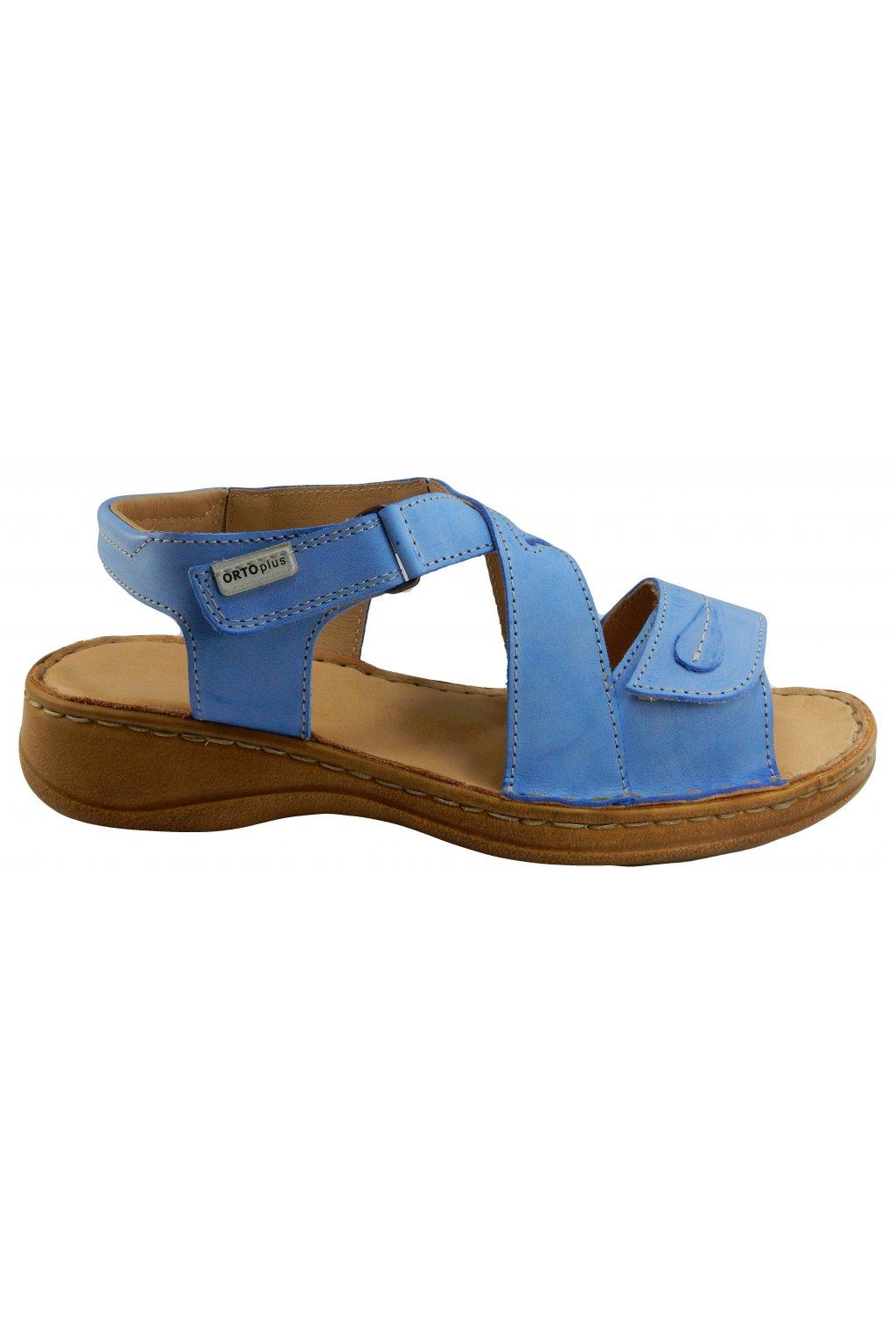 Dámské vycházkové zdravotní sandále ORTO PLUS 6087