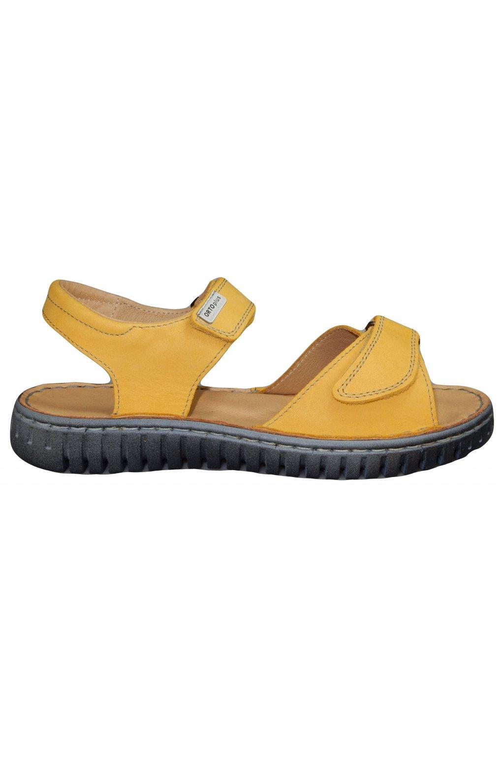 Dámské vycházkové zdravotní sandále ORTO PLUS 8054/H046