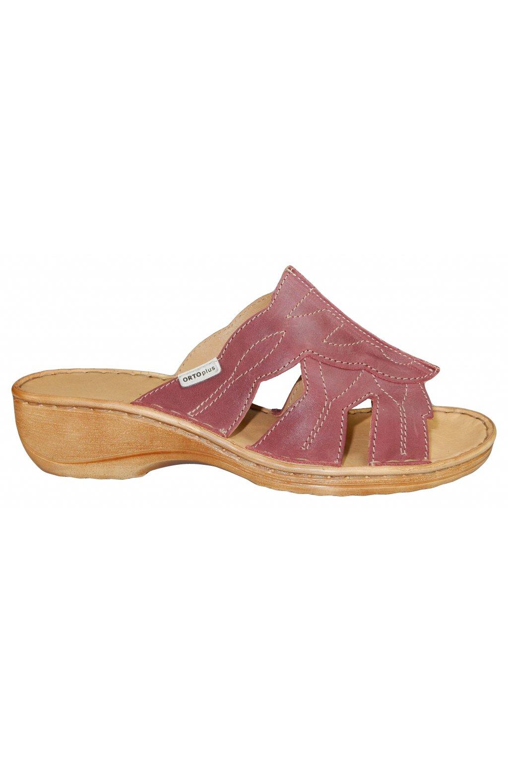 Dámské vycházková zdravotní pantofle ORTO PLUS 031511