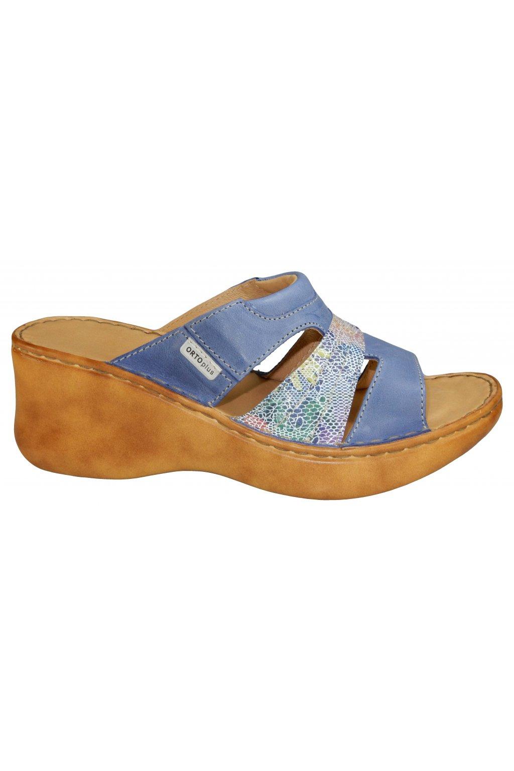 Dámská vycházková obuv na klínu ORTO PLUS 3043