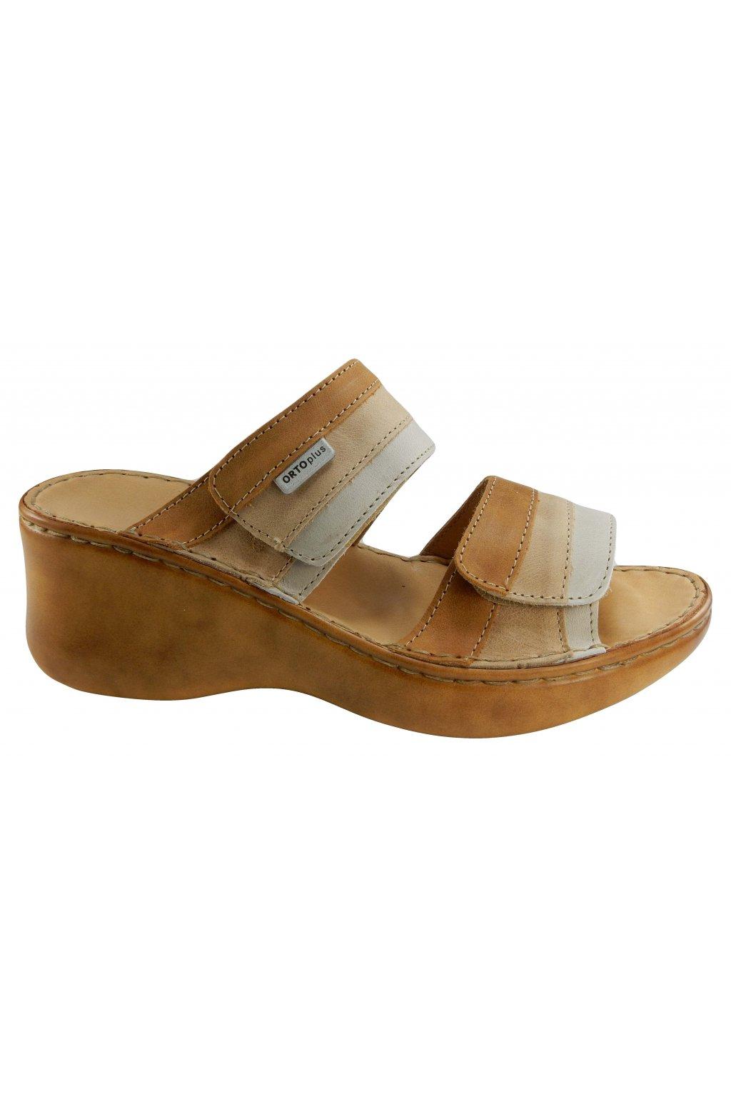 Dámská vycházková obuv na klínu ORTO PLUS 3047