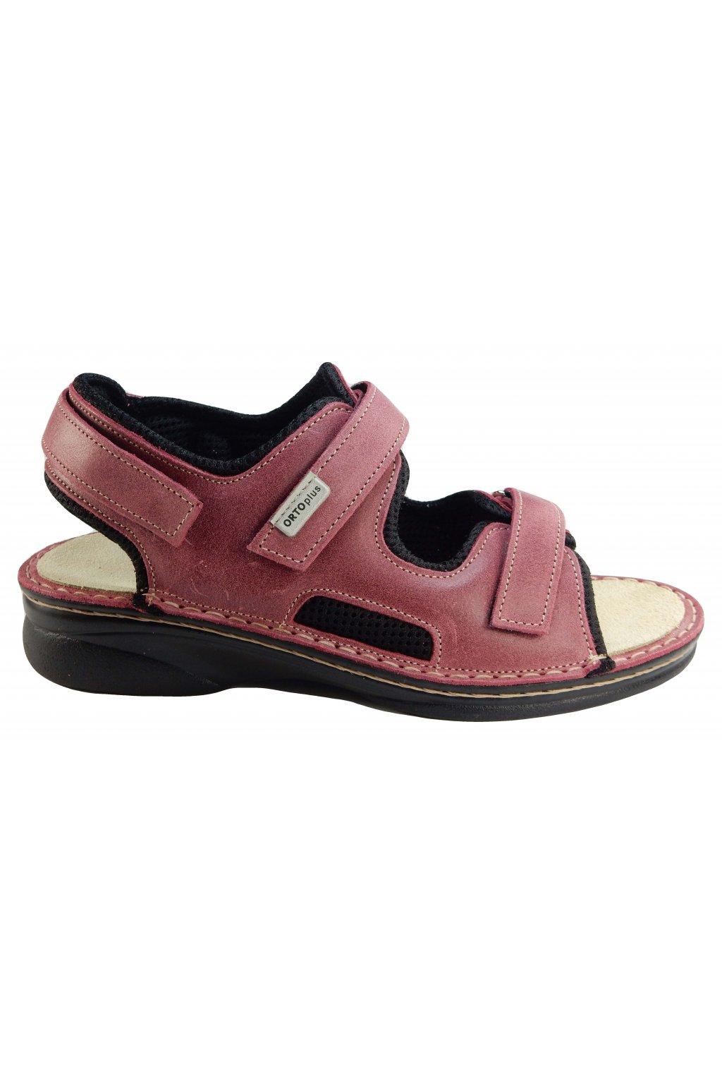 Dámské vycházkové zdravotní sandály ORTO PLUS 1627 M
