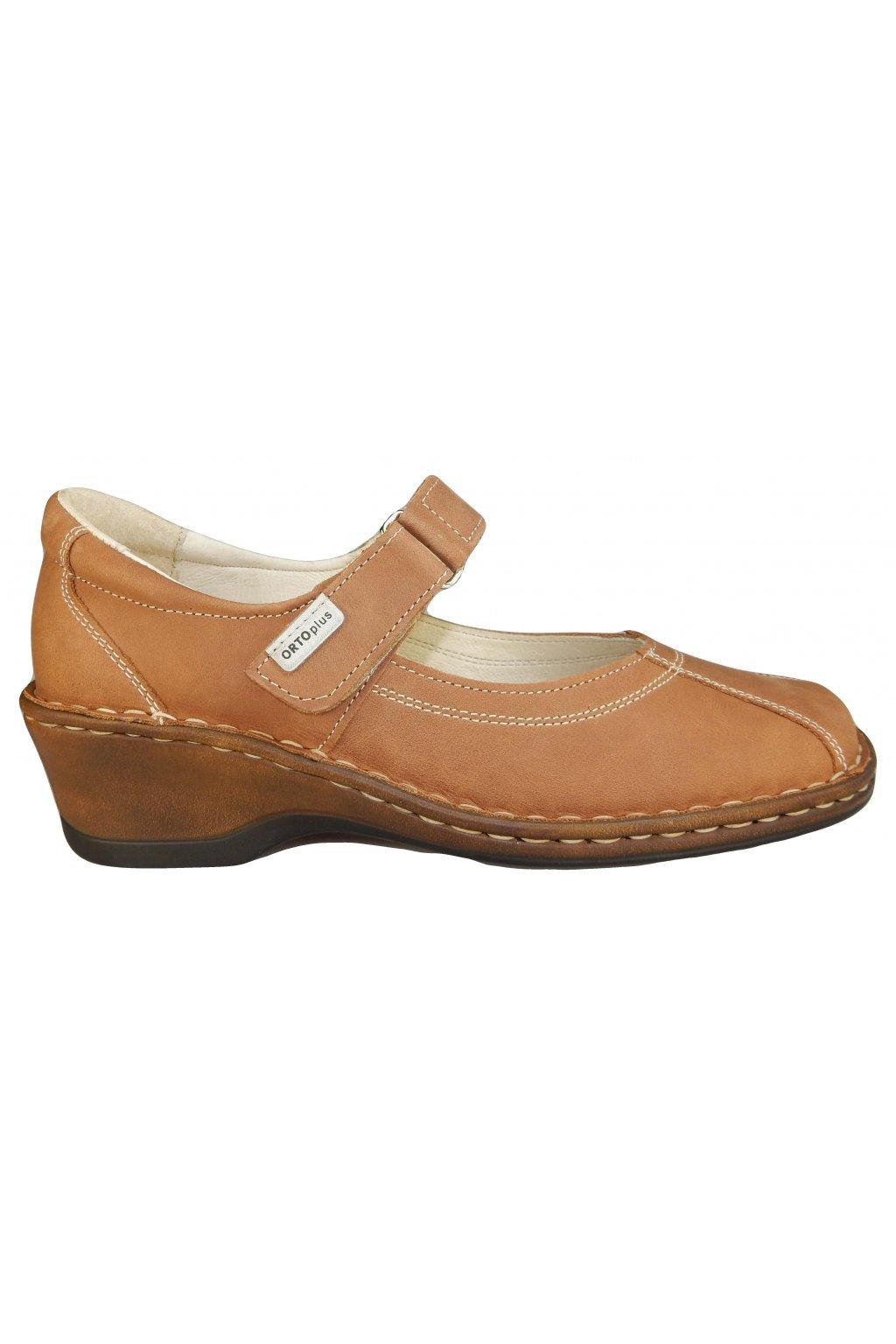 Dámská vycházková obuv na klínu ORTO PLUS 1506