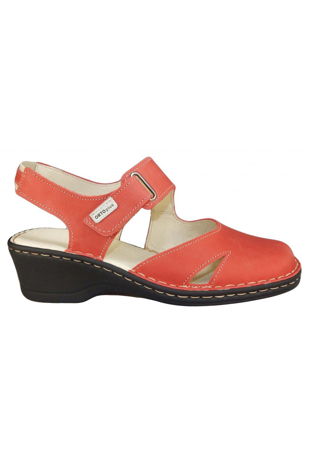 Dámská vycházková obuv na klínu ORTO PLUS 1505