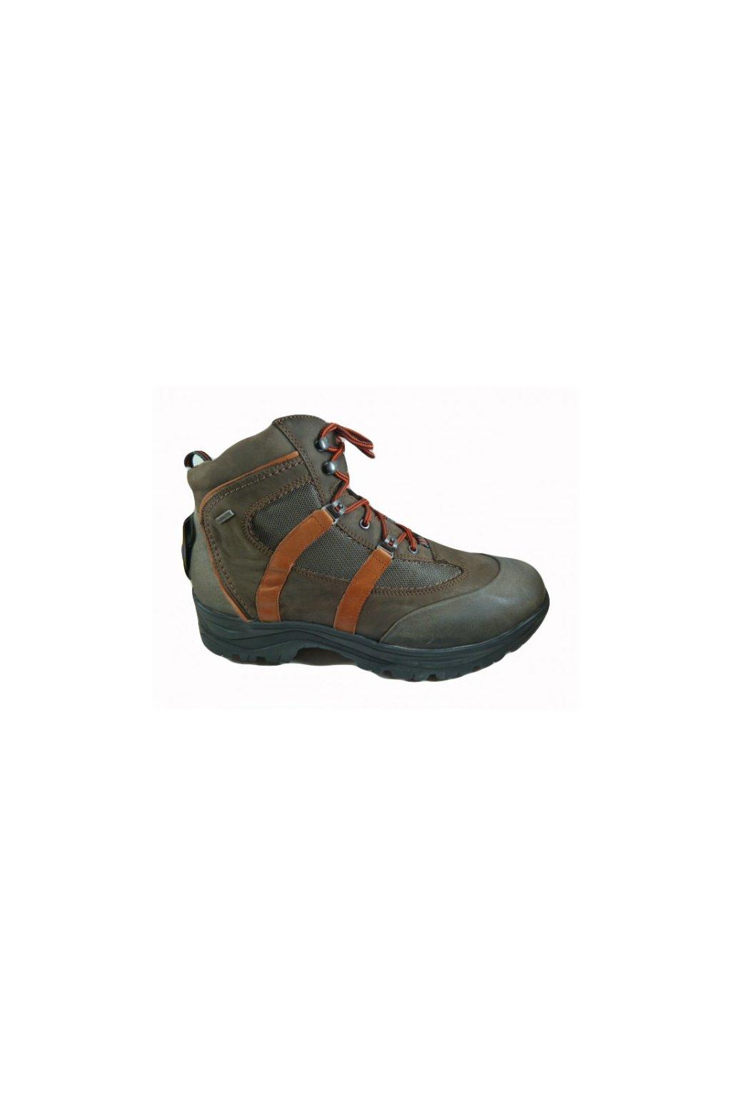 Pánská nadměrná obuv Romika 56103 M03 hnědá