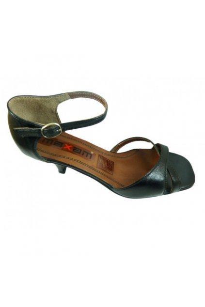 Podměrná dámská obuv Maxam 712 černá