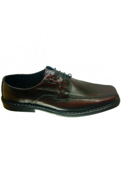 Nadměrná pánská obuv Alex 395 hnědá