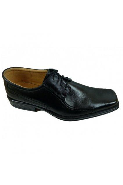 Nadměrná pánská obuv Kuda 523 černá