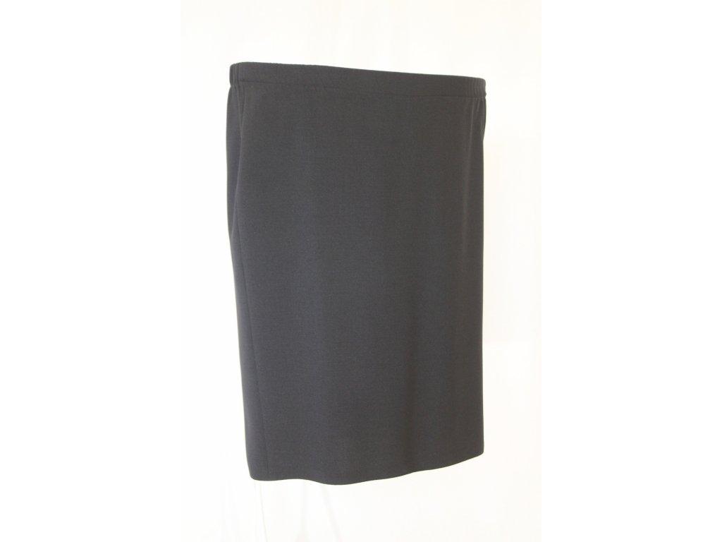 Sukně úzká černá