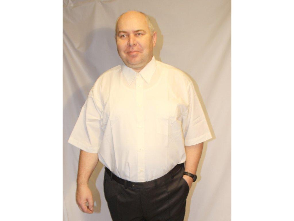 Košile společenská s krátkým rukávem