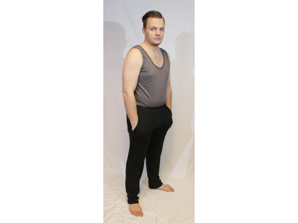 Tepláky s rovnou nohavicí