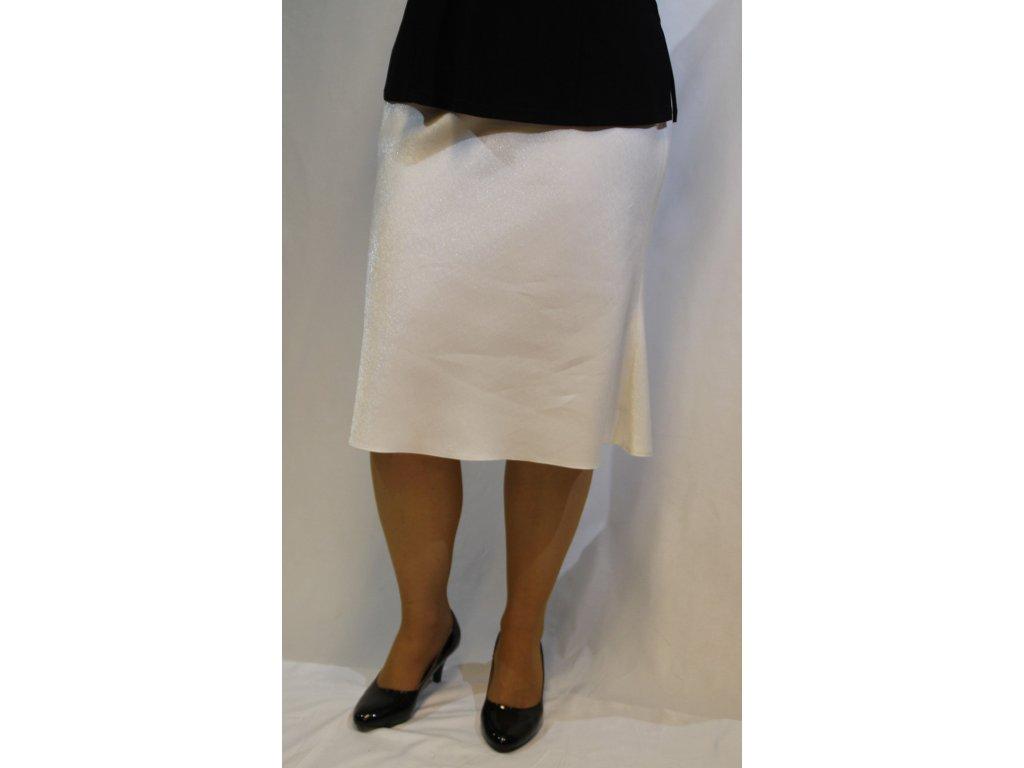 Smetanová sukně