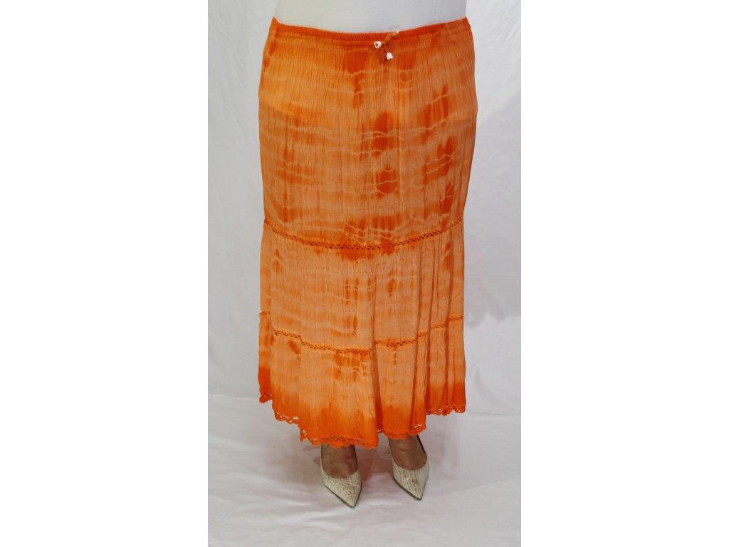 Sukně batiková letní