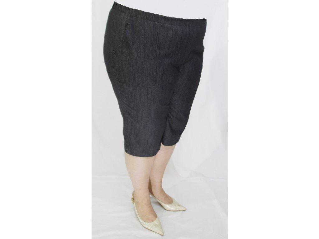 Kalhoty tříčtvrteční riflové
