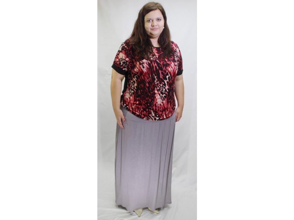 Dámská sukně úpletová dlouhá